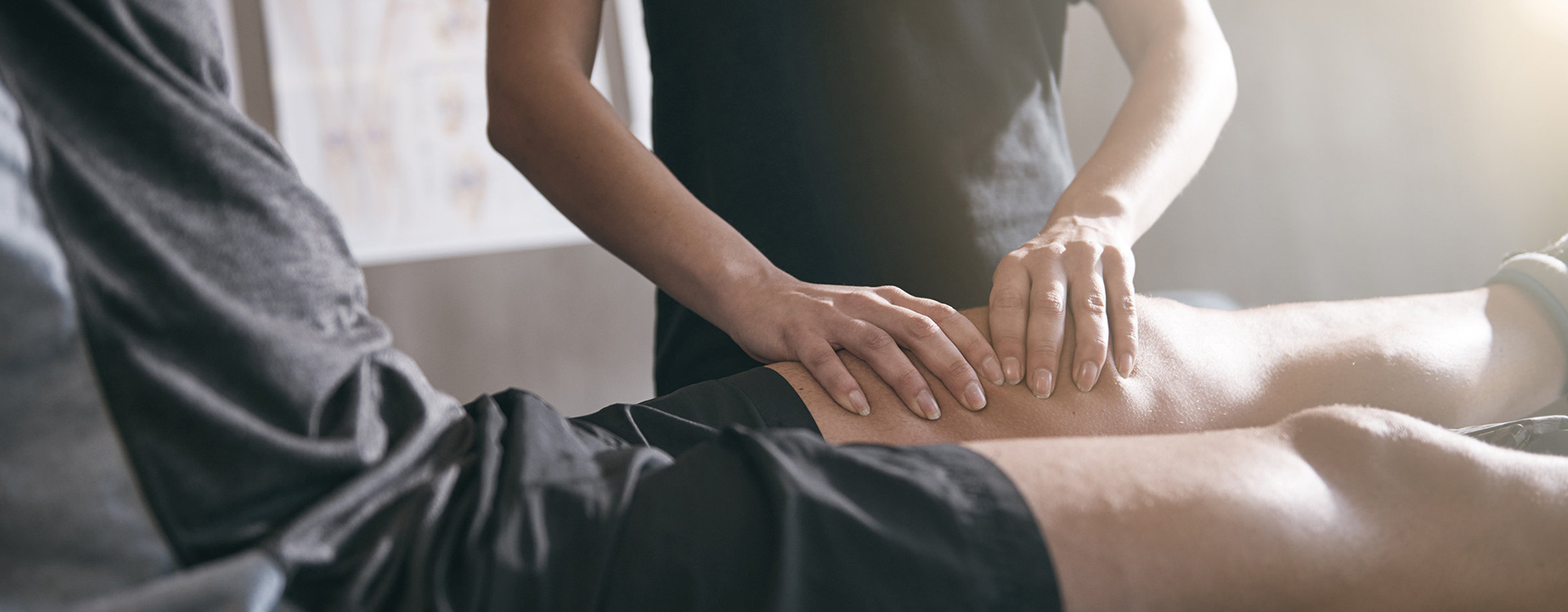 Personalised sports massage in Canary Wharf by Waterside Physiotherapy, the experienced sports physiotherapists